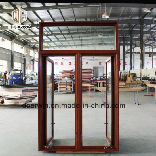 Oak Wood Aluminum Casement Window, American Crank Casement Window - China Wooden Sash Windows, American Crank Window