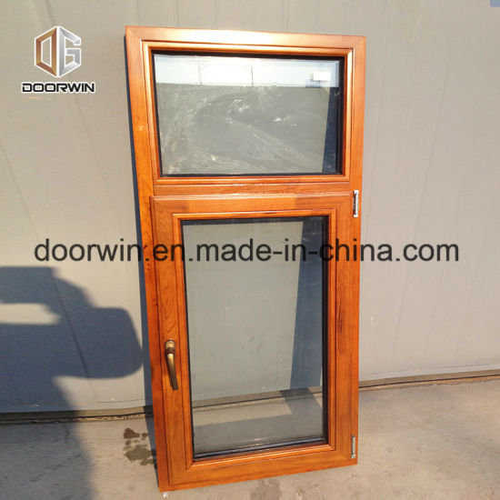 Oak Wood Clad Aluminum Tilt Turn Window - China Casement Window, Aluminium Wood Windows