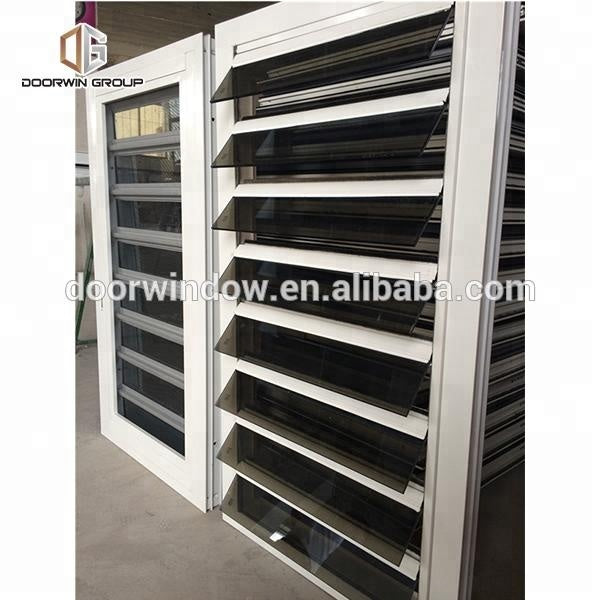 Operable louvers louver blades movable by Doorwin on Alibaba