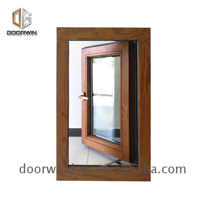 Original factory aluminum wood windows finish clad price