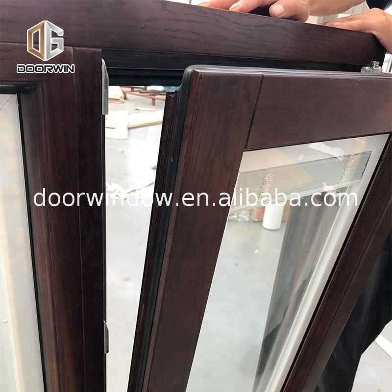 Outswing casement windows and doors with triple glass safety fly screen