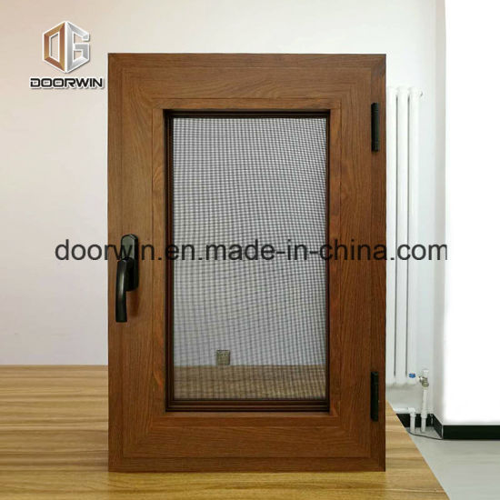 Perfect Aluminum Tilt&Turn Casement Windows - China Wood Clad Aluminum Window, Aluminum-Wood Window