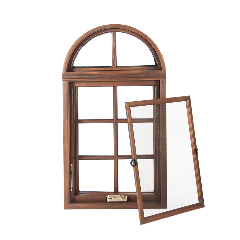 Princeton factory direct price passive house wood window bent wood windows garden window arch top wood grille