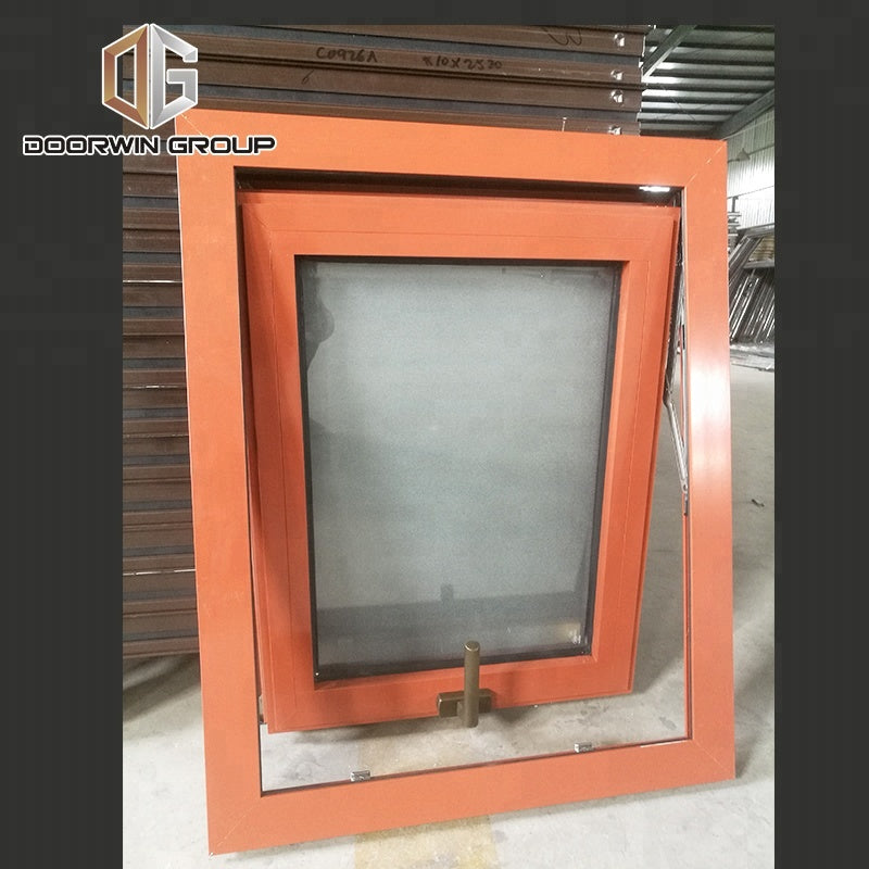 Professional double glass wood aluminum window double glass with blinds inside double glass window with blinds by Doorwin on Alibaba