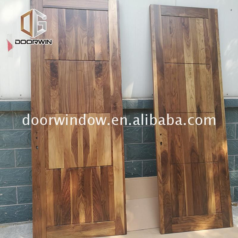 Professional factory red interior door readymade wooden doors and windows