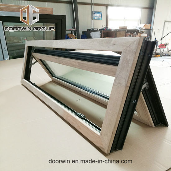 Red Oak Wood Clad Aluminum Push out Casement Window - China Awning, Awning  Windows