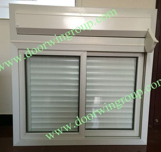 Rolling Shutter & PVC Glass Window for Container House, Competetive PVC Casement Window, Good Quality PVC Window Withe Grille - China PVC Window, PVC Sliding Window
