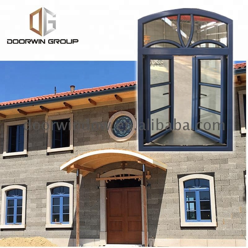Safety window grill design round that open molding by Doorwin on Alibaba