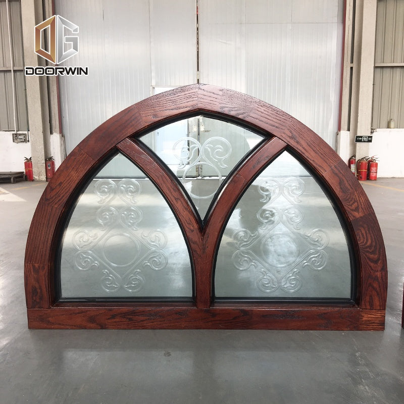 San Diego best selling products aluminum clad timber window 3 glass windows by Doorwin on Alibaba