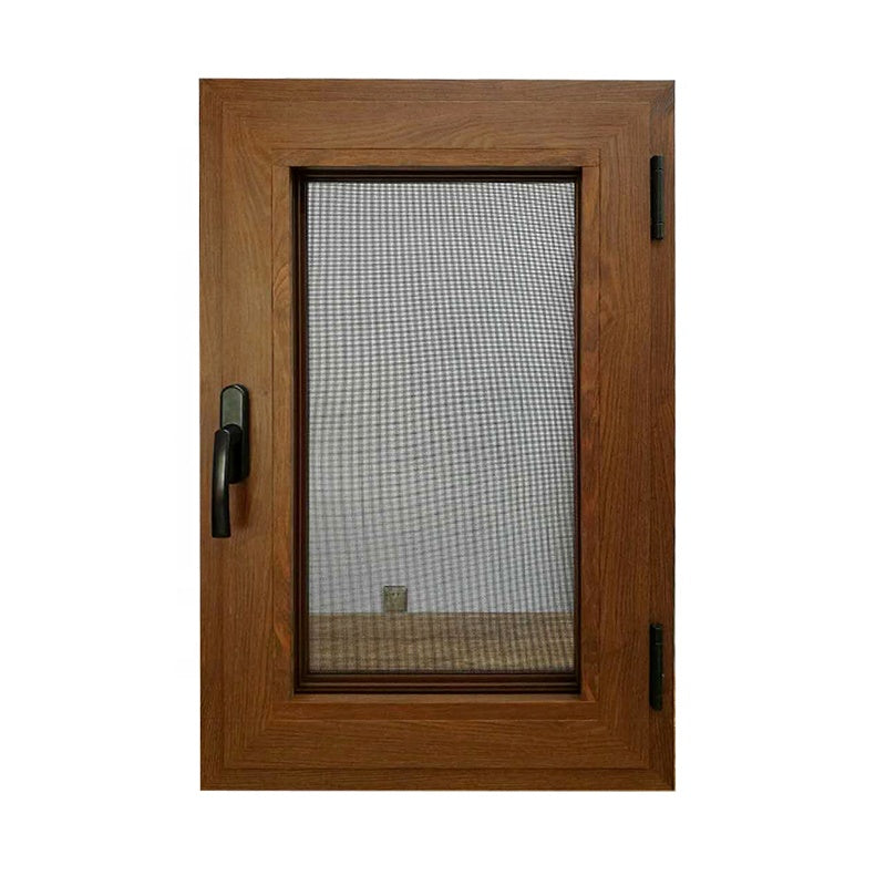 Schuco double glazed powder coated thermal break aluminum casement window