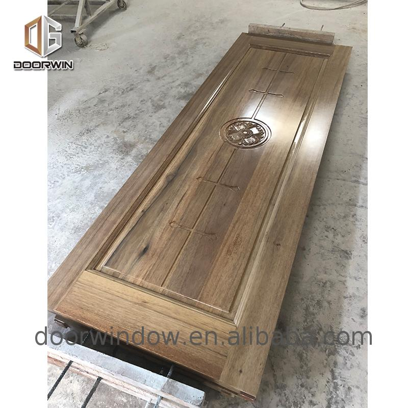 Simple wood in door patterns solid wood door oak wooden profiles for window and door profiles