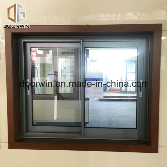 Sliding Glass Window with Flyscreen/Mosquito Nets - China Glass Window, Plastic Window