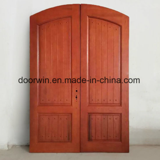 Solid Interior Wooden Door and Hinged Doors, Nice Appearance Wood French Door for Balcony and Terraces - China Interior Door, Wooden Door