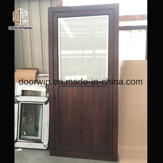 Solid Oak Wood Front Door - China Indian Single Door Designs, Used Exterior French Doors for Sale