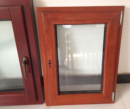 Solid Oaken Wood Aluminium Casement Window for USA Villa - China Aluminium Wooden Window, Aluminium-Wooden Window