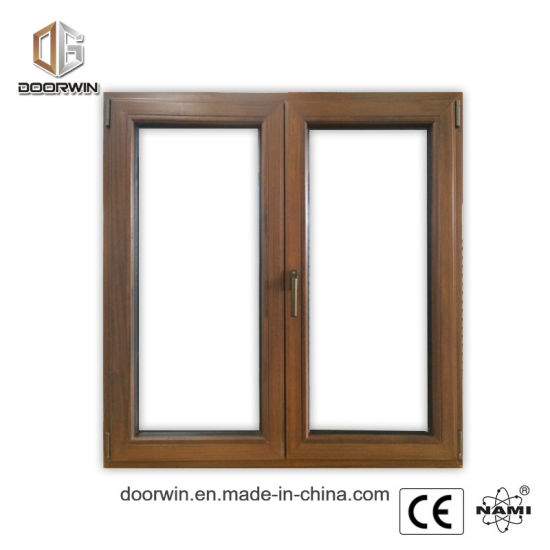 Solid Oaken Wood Thermal Break Aluminum Composite Window - China Wood Aluminum Windows, Wood Aluminum Glazing Windows