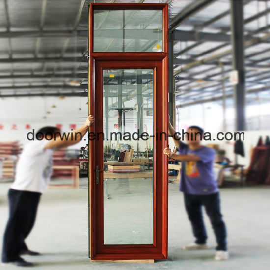 Solid Wood Aluminum French Door - China Wood Aluminum Door, Wood Aluminum French Door