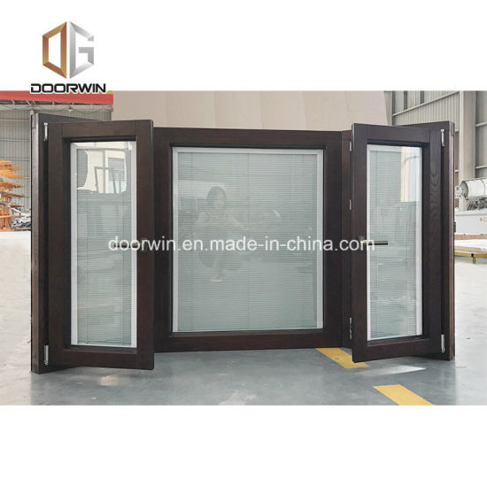 Solid Wood Bay & Bow Window, High  Thermal  Values  and  Low  U  Value Energy-Saving Window - China Bay Window, Casement Window