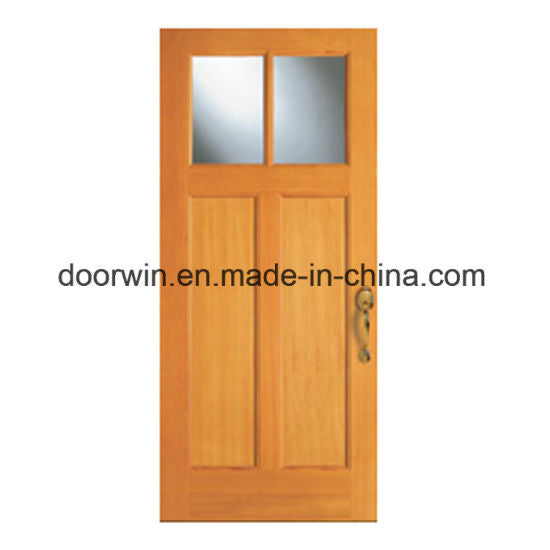 Solid Wood Entrance Door with Sidelite, Craftsman Door - China European Style French Door, Exterior Commercial Glass Door
