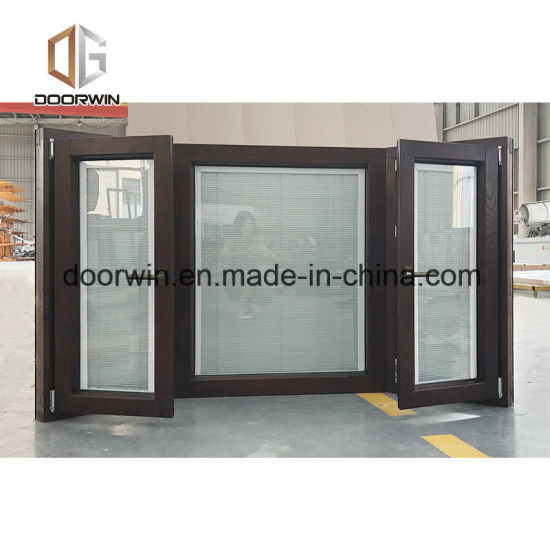 Solid Wood Exterior Aluminum Alloy Powder Coating Technology Bay & Bow Window, Popular Specialty Window with Grille - China Aluminum Window, Alu Window