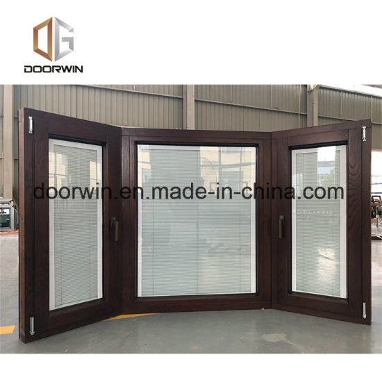 Solid Wood Specialty Window Grille Design, Good Quality Aluminum Bay & Bow Window for Residential Building - China Bay Window, Casement Window