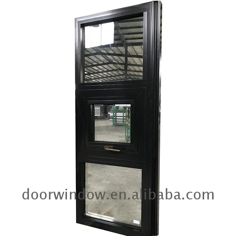 Soundproof awning window with crank security windows powder coating