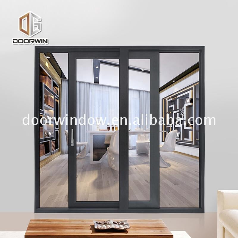 Soundproof interior bedroom aluminum sliding door