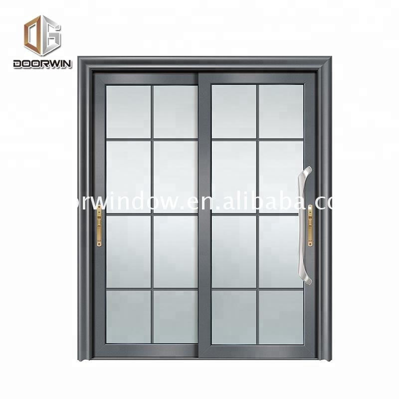 Super September Purchasing Metal glass double doors exterior glazing door with venetian blinds
