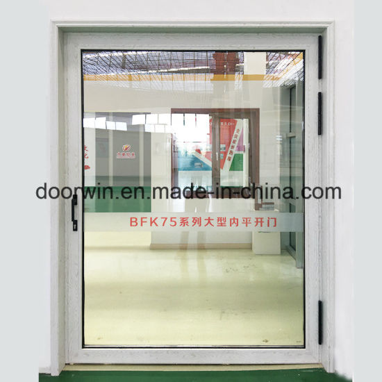 Super Wide Glass Entry Door - China Front French Doors, House Front Door