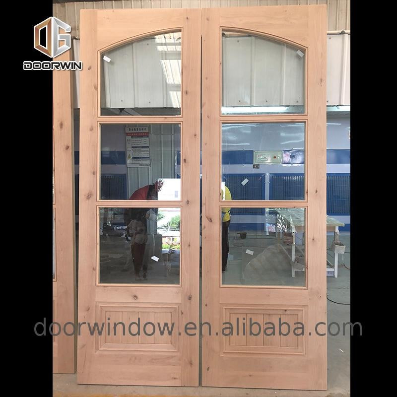 Swing glass doors stained glass door single leaf glass door
