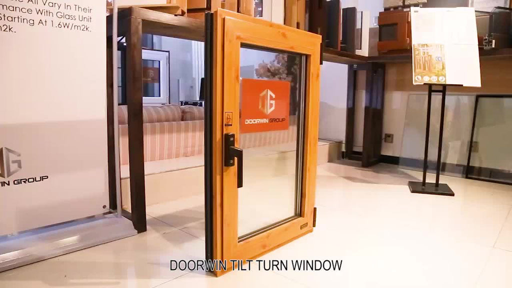 High quality good price aluminium tilt turn window