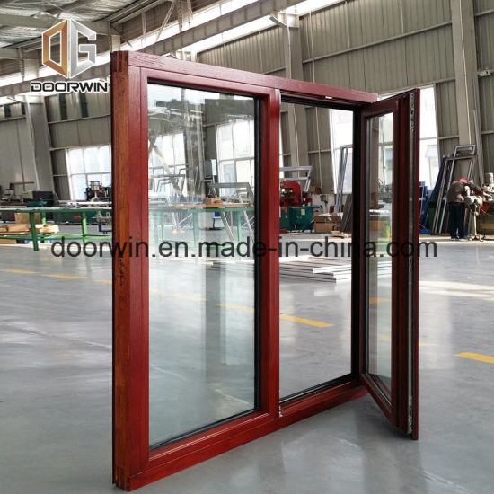 Teak Wood Storm Windows - China Double Hung Window, Single Hung Window