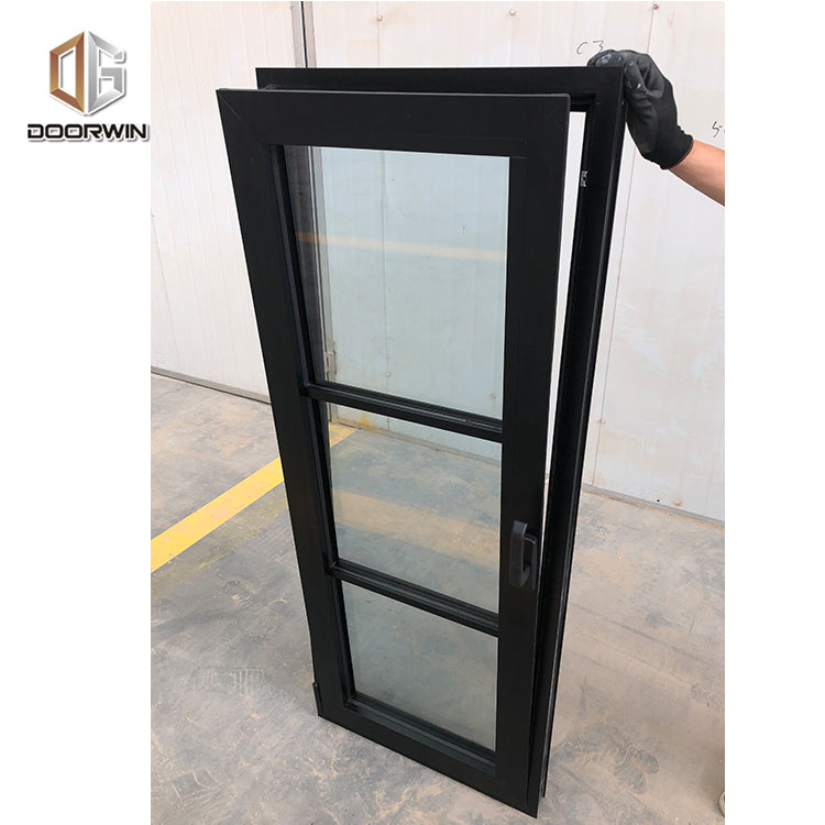 Texas durable aluminum double glazed hinged window aluminum profile channel window