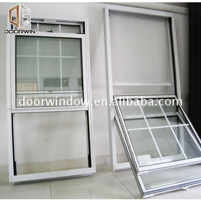 The newest single hung window vs double styles sizes