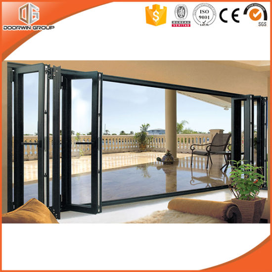 Thermal Break Aluminium Bifold Glass Door for Villa - China Aluminum Bifold Door, Aluminum Bifolding Door