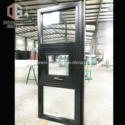Thermal Break Aluminum Black Color Awning Window - China Import Aluminium Casement Window, Stained Glass Window