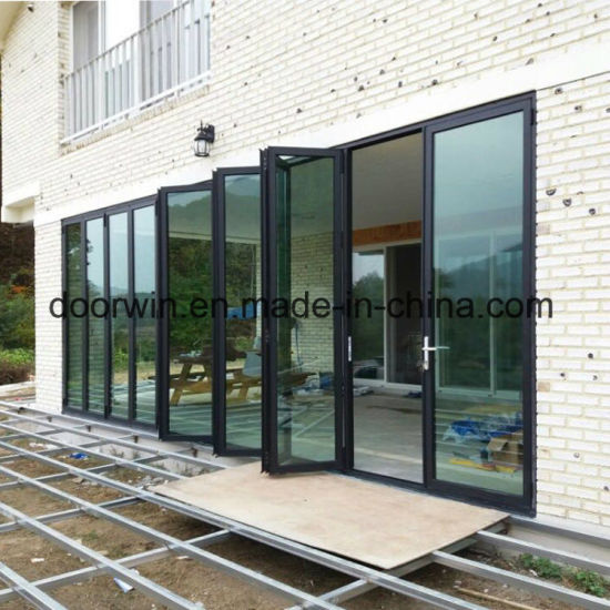 Thermal Break Aluminum Fold Door - China Aluminiun Folding Door, Aluminium Glass Door