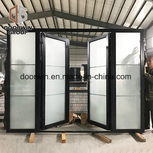 Thermal Break Aluminum Hinged French Door - China Double Glazed Door, Apartment Entry Door