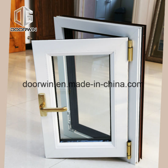 Thermal Break Aluminum Tilt Open Window - China Owning Window, Window Glass Pictures