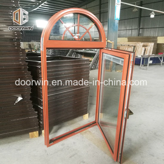 Thermal Break Aluminum Tilt Turn Window with Integral-Shutter - China Arched Windows, Window Grill Design