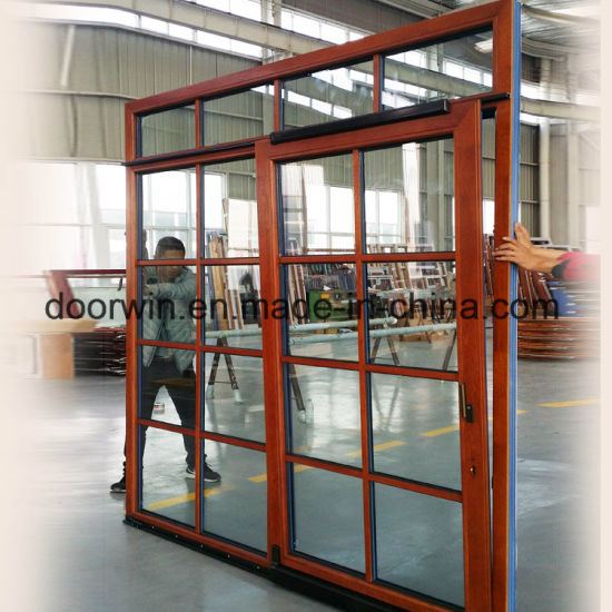 Thermal Break Aluminum with Red Oak Wood Cladding Form Inside Sliding Door - China Sliding Door System, Sliding Door with Built in Blinds