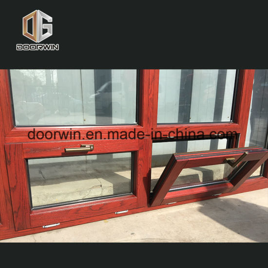 Tilt Turn Windows with Aluminum Clad Oak Wood - China Tilt Turn Window, Wood Windows