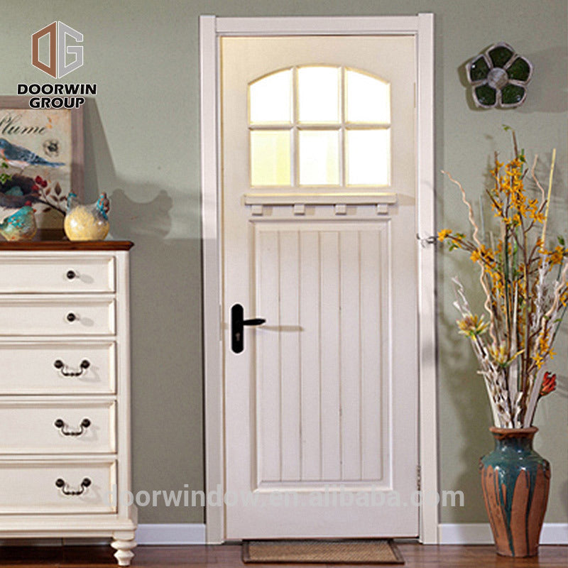 Timber wood front door by Doorwin