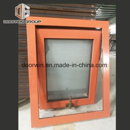 Top Hung Window with Glass - China Double Glazing Awning Windows, Popular Inswing Casement Windows and Doors