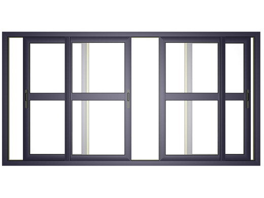 Top Quality Aluminum Sliding Glass Doors with Safety Glass - China Aluminum Sliding Door, Aluminum Door