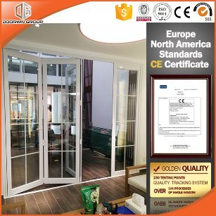 Top Quality Folding Door with Colonial Bars in China - China Sliding Door, Sliding Patio Door