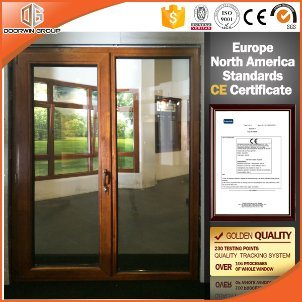Top Quality French Door in China - China Alu Clad Wood Door, Alu Clad Wood Glass Door