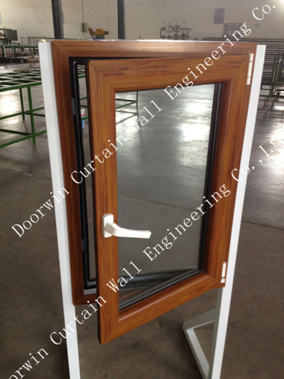 Top Quality UPVC Casement Window with Wood Color Finishing, Good Quality PVC Casement Window for Fabricated/Container House - China UPVC Casement Window, UPVC Window