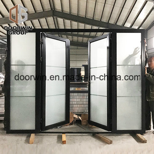 USA Thermal Break Aluminum Single Hinged Door for High End House, French Door with Beautiful Full Divided Grille - China Aluminum Single Hinged Door, Singled Hinged Door