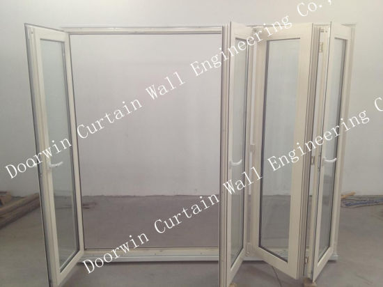 USA Villa Quality Aluminum Sliding Bifold Glass Door - China Aluminum Bifold Door, Aluminum Bifolding Door